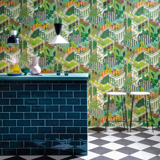 Cole and Son Miami Wallpaper - Geometric ll