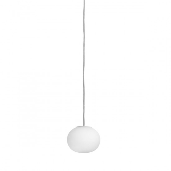 Flos Glo-Ball S Suspension Light-Mini Glo-Ball: (H: 85mm x Ø of ball: 112mm x Cord Length: 4000mm, 0.7kg)