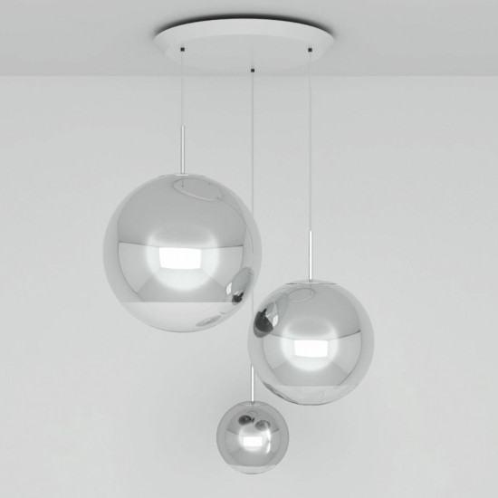 Tom Dixon Mirror Ball Range Round Pendant System