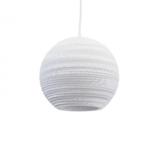 Graypants White Moon-10 Pendant Light