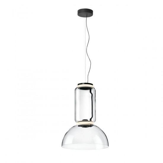 Flos Noctambule S Low Suspension Light - Cylinders and Bowl