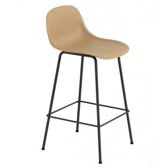 Excellent Muuto Fiber Tube Base Bar Stool 65Cm Beatyapartments Chair Design Images Beatyapartmentscom