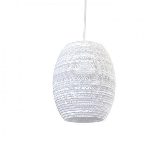 Graypants White Olive Pendant Light