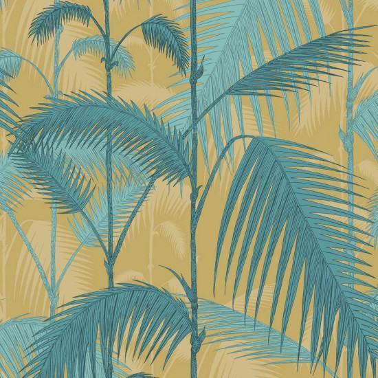 Cole and Son Palm Jungle Fabric - Linen Union