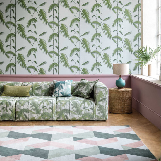 Cole And Son Palm Leaves Wallpaper New Contemporary Beut