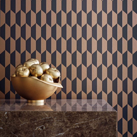 Cole and Son Petite Tile Wallpaper - Icons