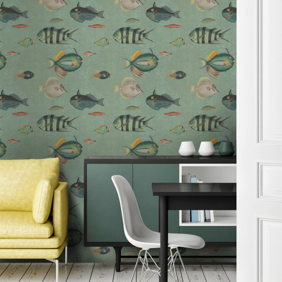 Mind The Gap Poissons Wallpaper