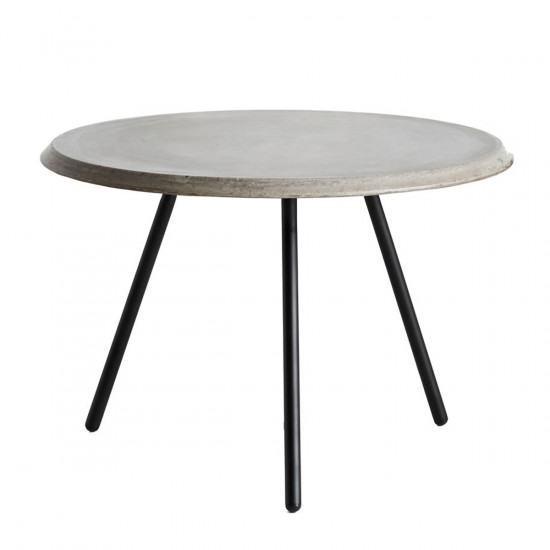 Woud Soround Coffee Table Concrete