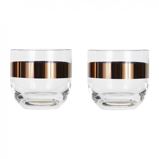 Tom Dixon Tank Whiskey Glasses (set of two) - Copper