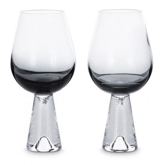 Tom Dixon Tank Wine Glasses x2 - Black