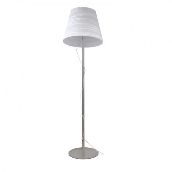 Graypants White Tilt Floor Lamp