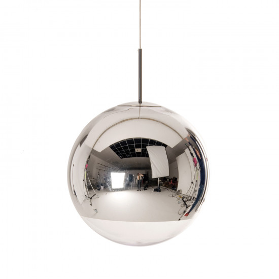 Tom dixon mirror ball 50 pendant light chrome silver chrome tom dixon mirror ball 50 pendant light chrome silver mozeypictures Images