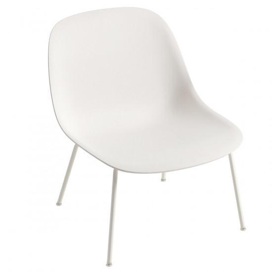 Marvelous Muuto Fiber Lounge Chair Tube Base Alphanode Cool Chair Designs And Ideas Alphanodeonline