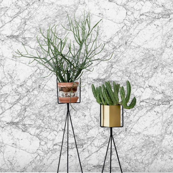 Ferm Living Marble Wallpaper Grey