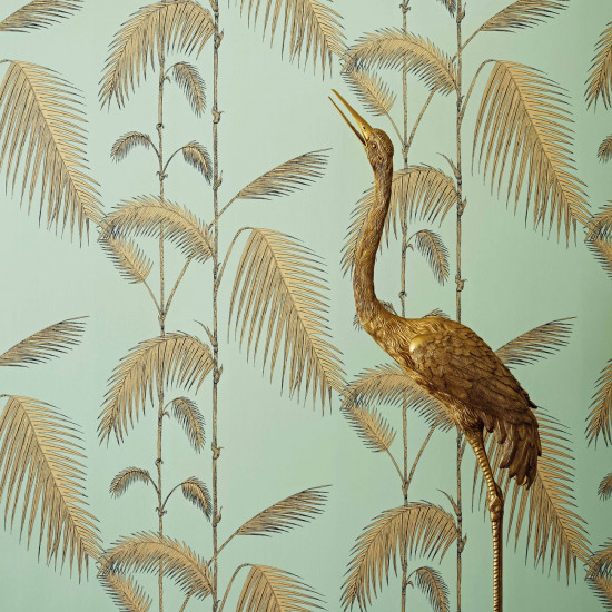 Cole and Son Palm Leaves Wallpaper - Icons