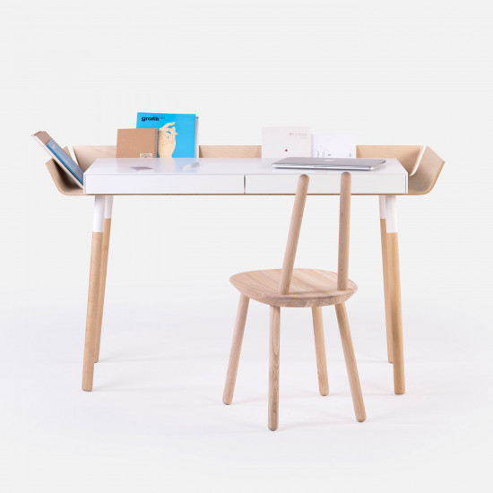 EMKO My Writing Desk 2 Drawers White