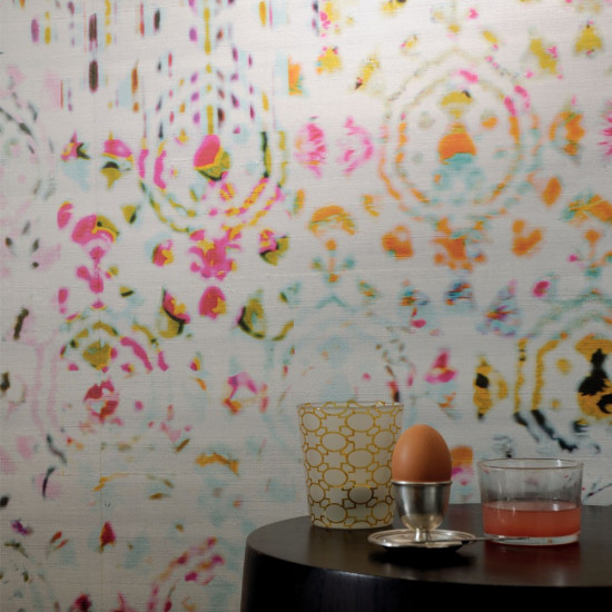 Elitis Wallpaper Brit Pop Wallpaper Kandy Collection Luxury