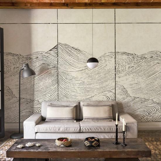 Coordonne Waves Mural Wallpaper