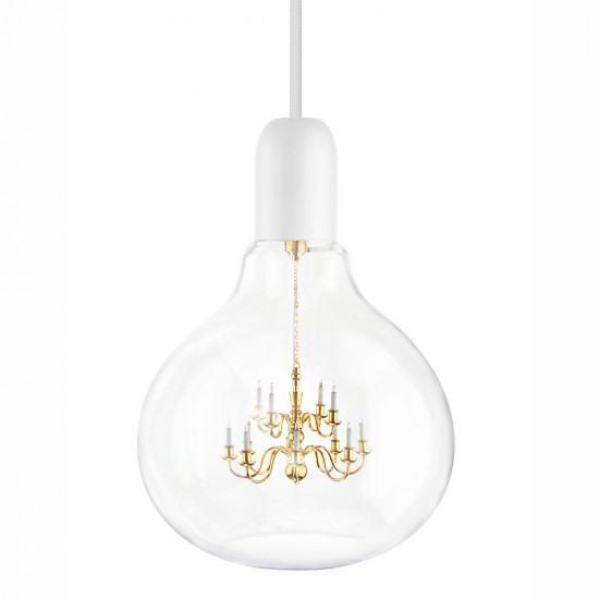 Mineheart King Edison Pendant Lamp - White