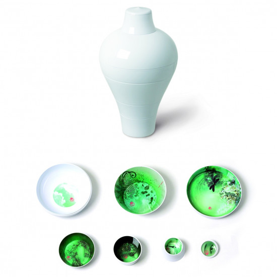 ibride Ming Set of 6 Stackable Bowls