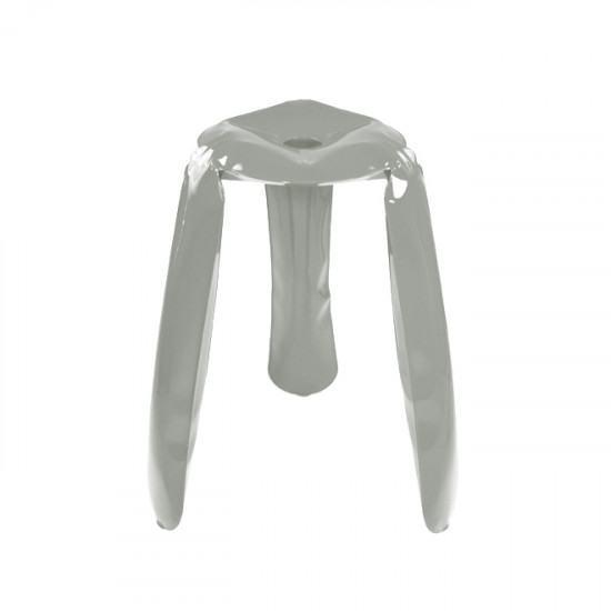 Amazing Zieta Plopp Kitchen Stool Grey Inzonedesignstudio Interior Chair Design Inzonedesignstudiocom