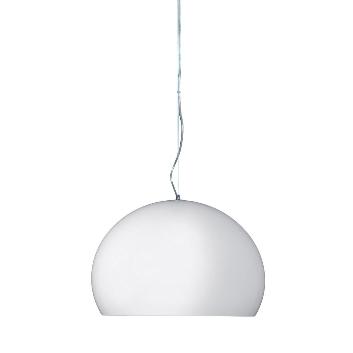 Kartell Small FLY Suspension Light White