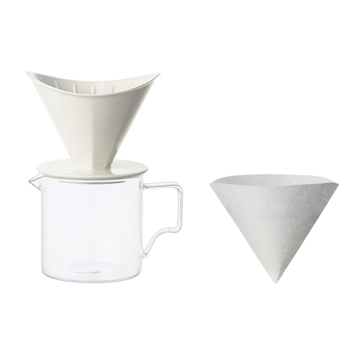 Kinto OCT Brewer Jug Set 2 Cups