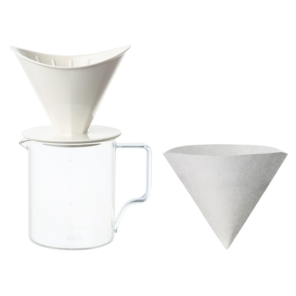 Kinto OCT Brewer Jug Set 4 Cups