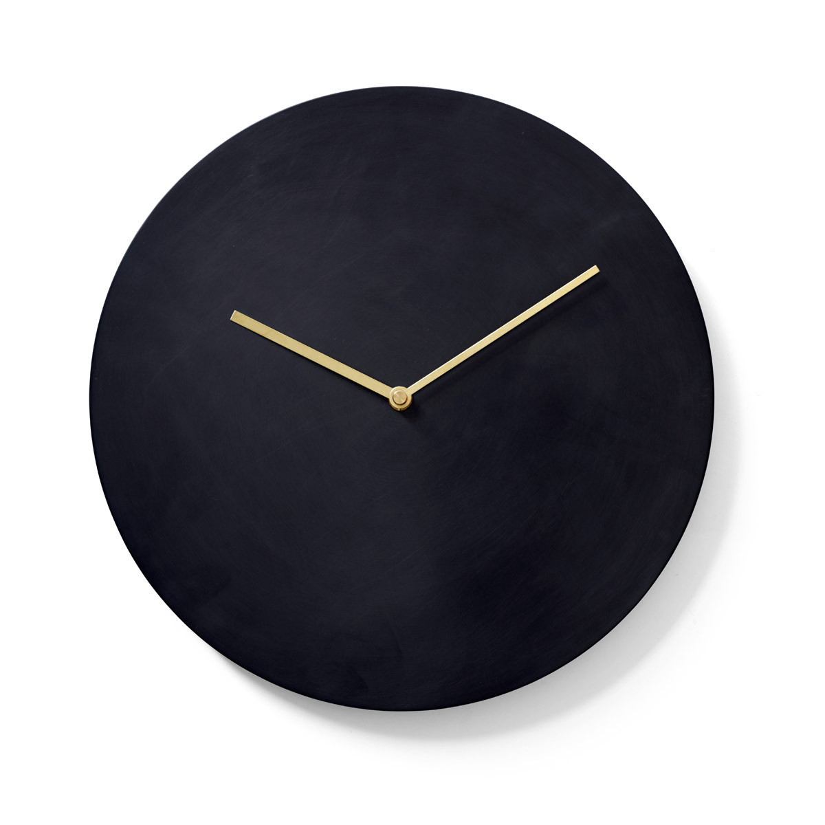Menu Norm Wall Clock-Bronzed Brass
