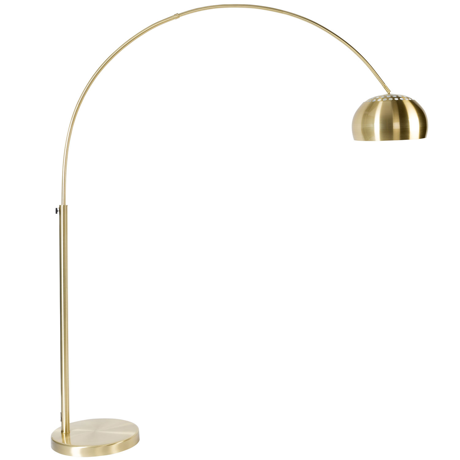 Image of: Zuiver Metal Bow Floor Lamp Lighting Beut Co Uk