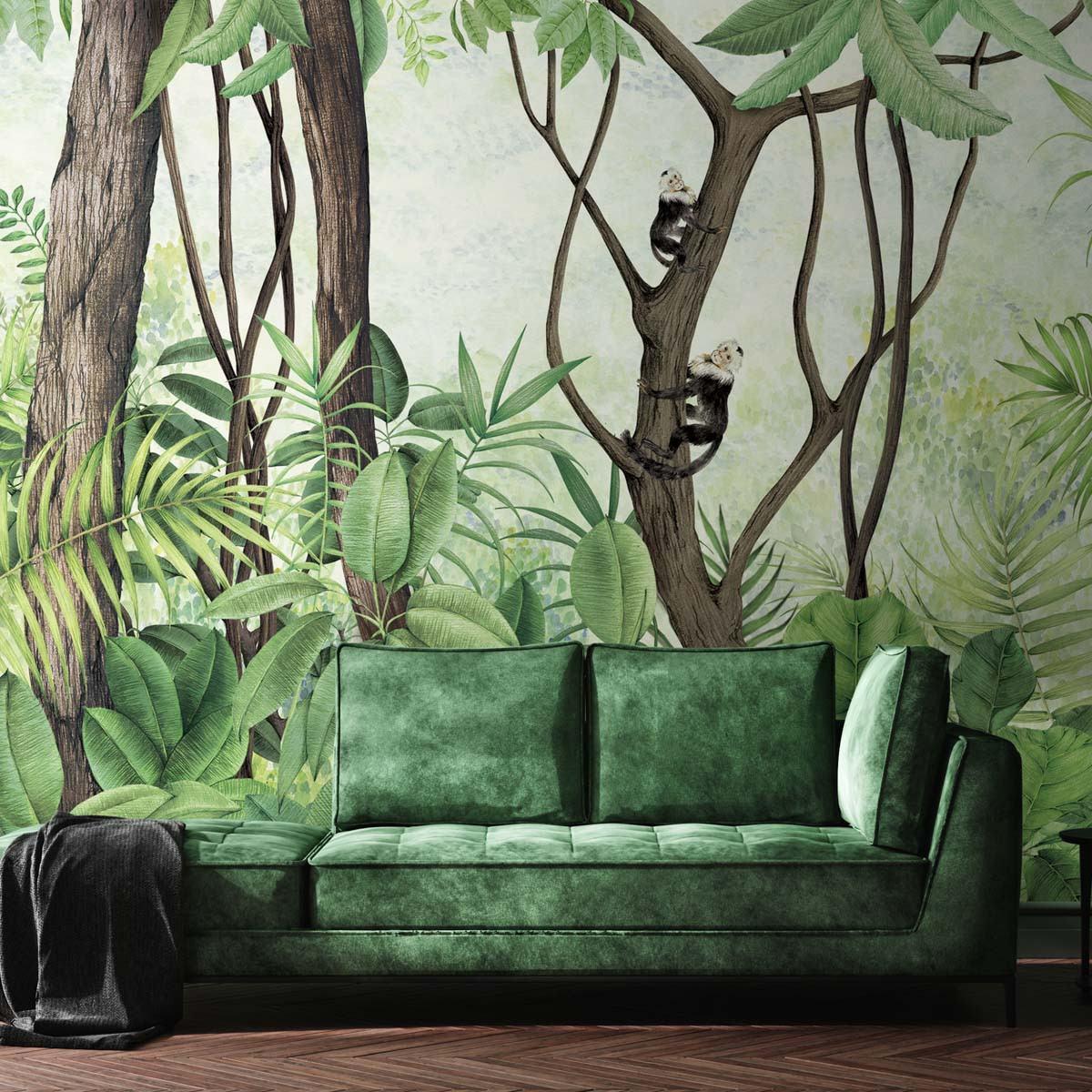 Coordonne Casa De Vidro Mural Wallpaper - Clearance Design - 9000050V (50% Off RRP) - WxH - 165x215cm