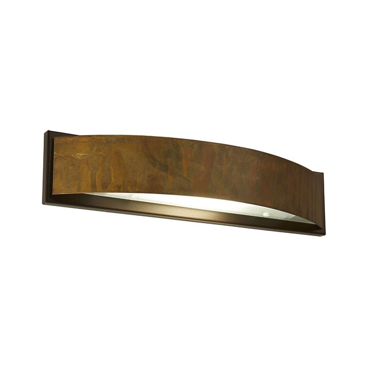 Gibas LOLA Wall Light - Large/Round - Distressed Brass