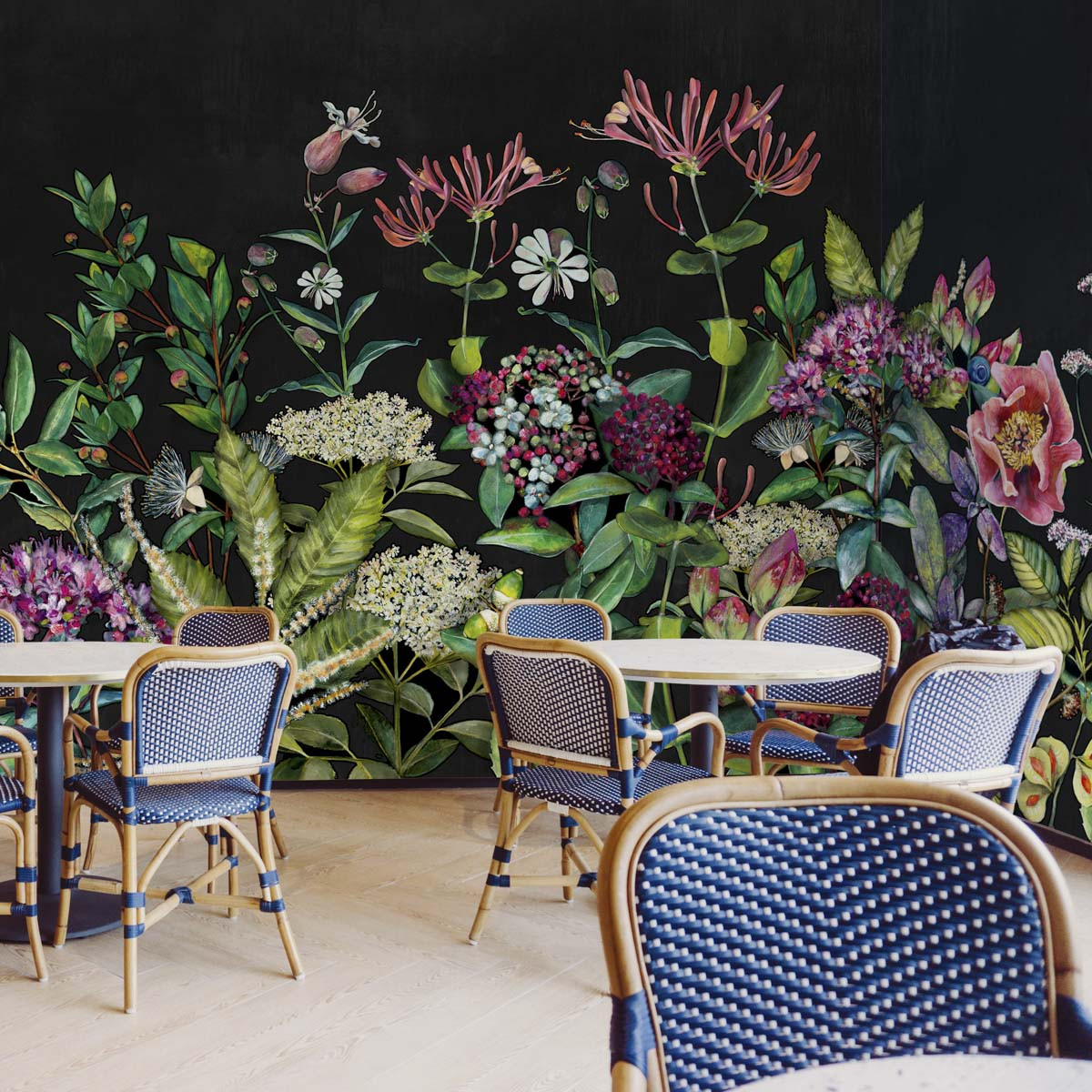 Coordonne Wild Floral Mural Wallpaper