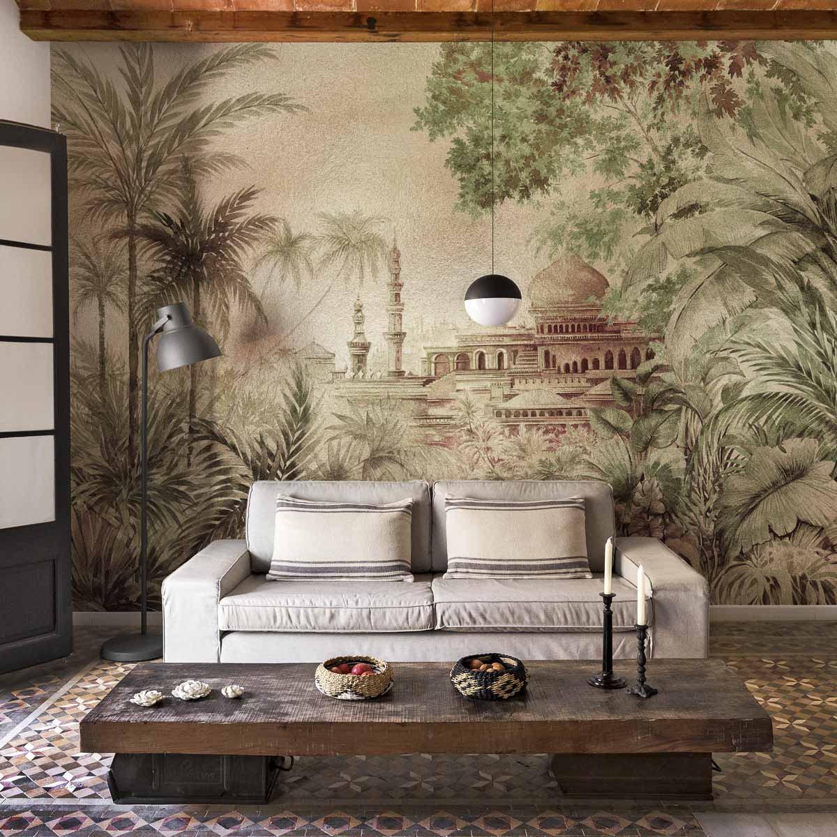 Coordonne Taj Mahal Metallics Mural Wallpaper