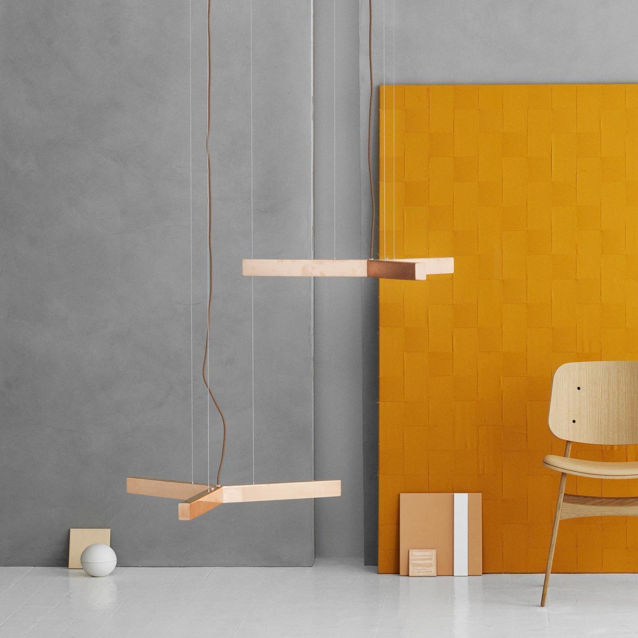 Anour Y Model Metal Pendant Lamp