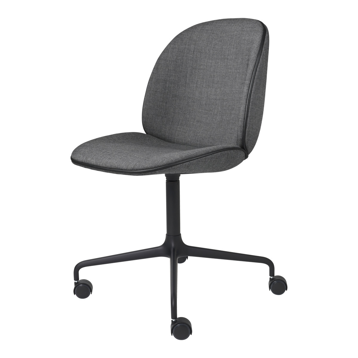 Gubi Beetle Meeting Chair - 4-Star Base W/ Castors