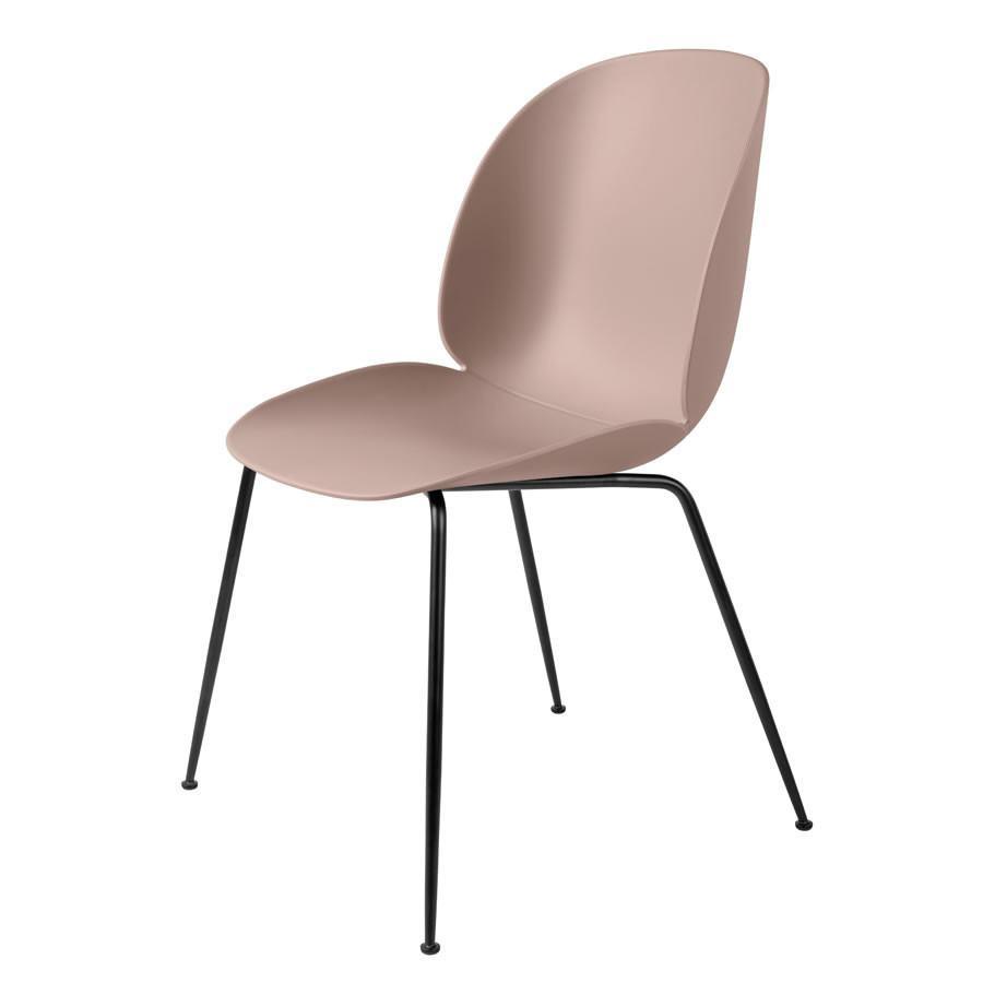 Gubi Beetle Dining Chair, Metal Base