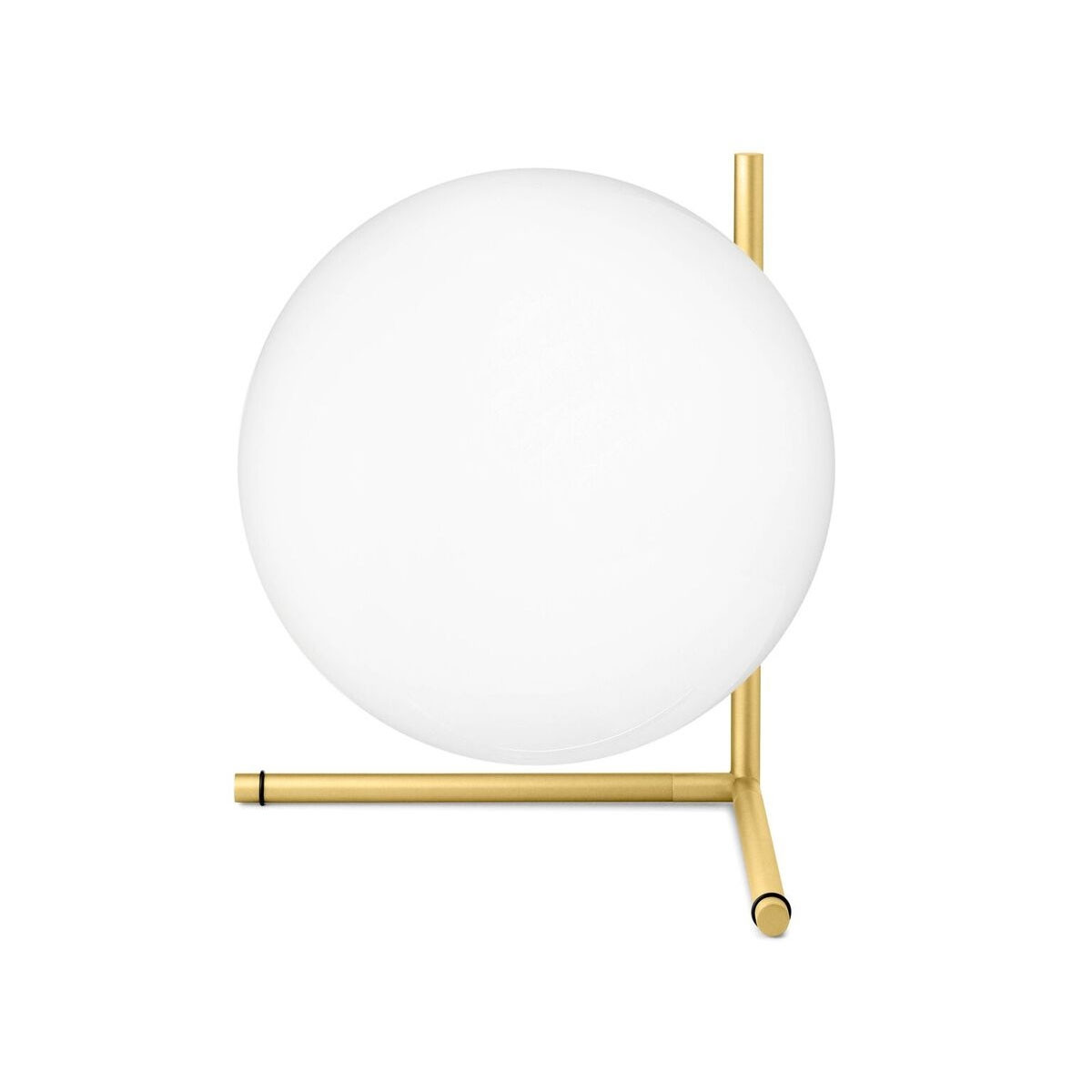 Flos IC T2 Table Lamp-Brass