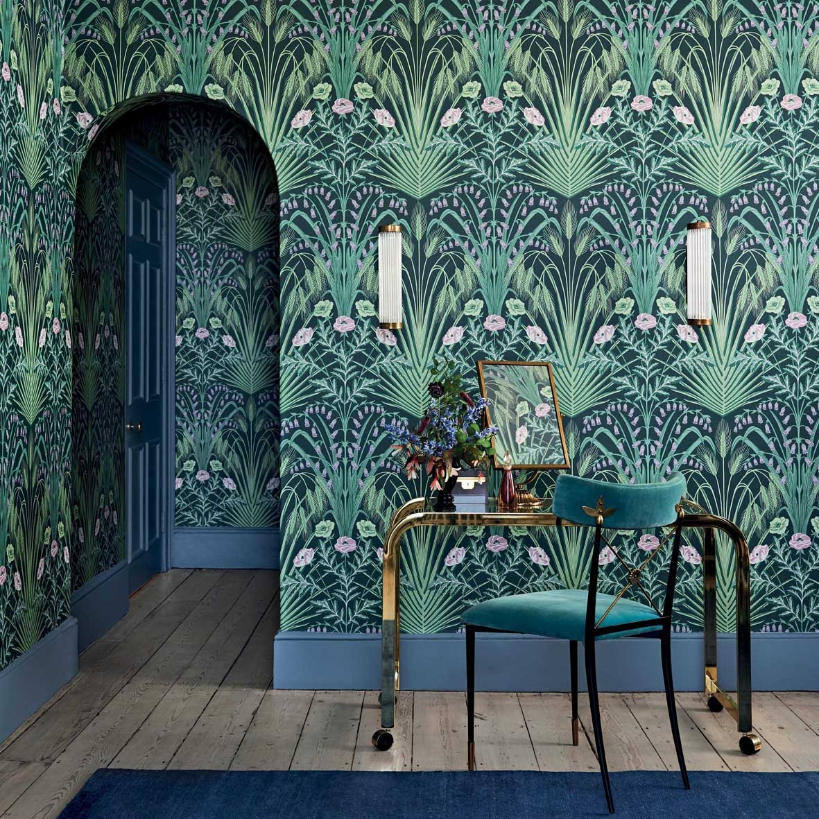 Cole and Son Bluebell Wallpaper - Botanicals