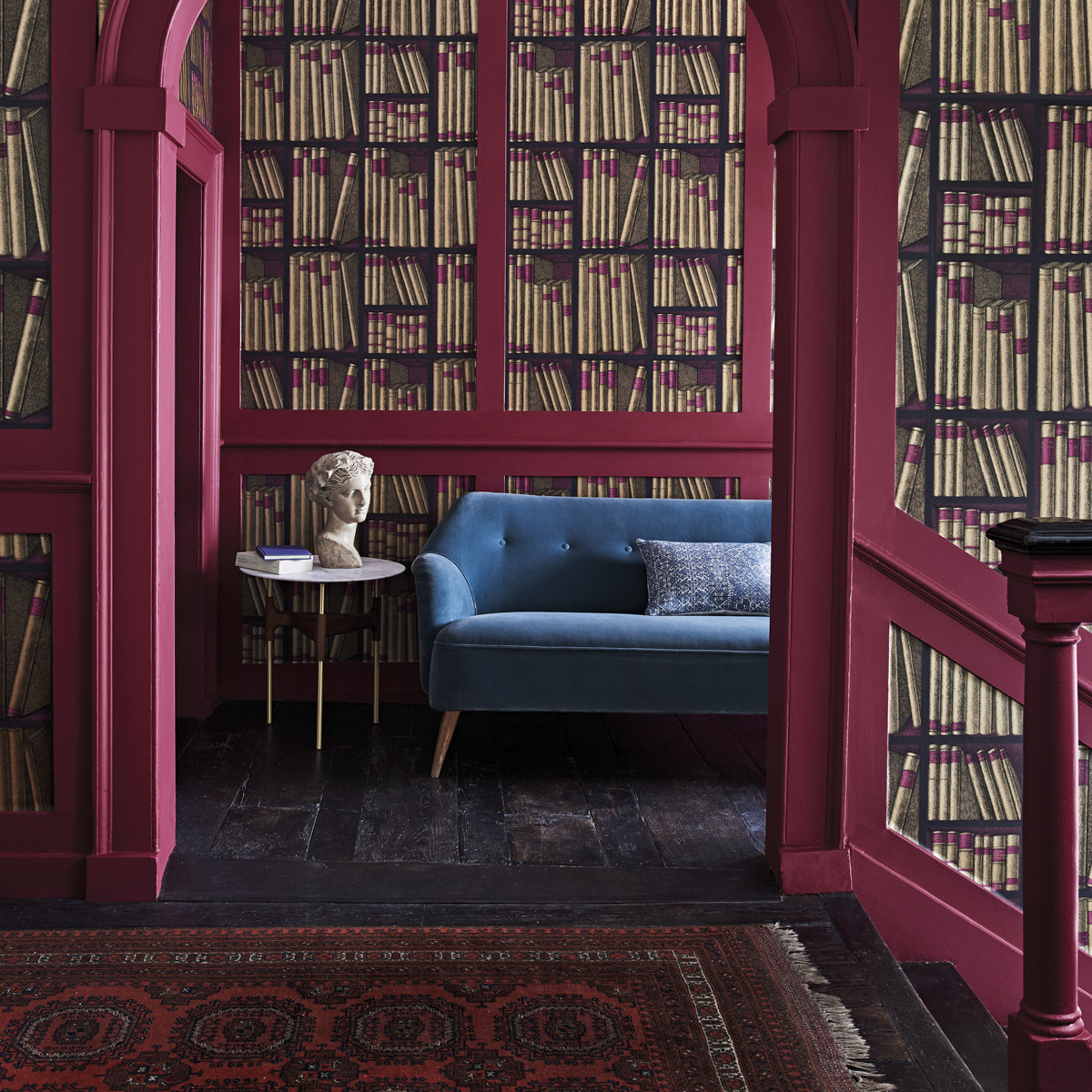 Cole & Son Ex Libris Wallpaper