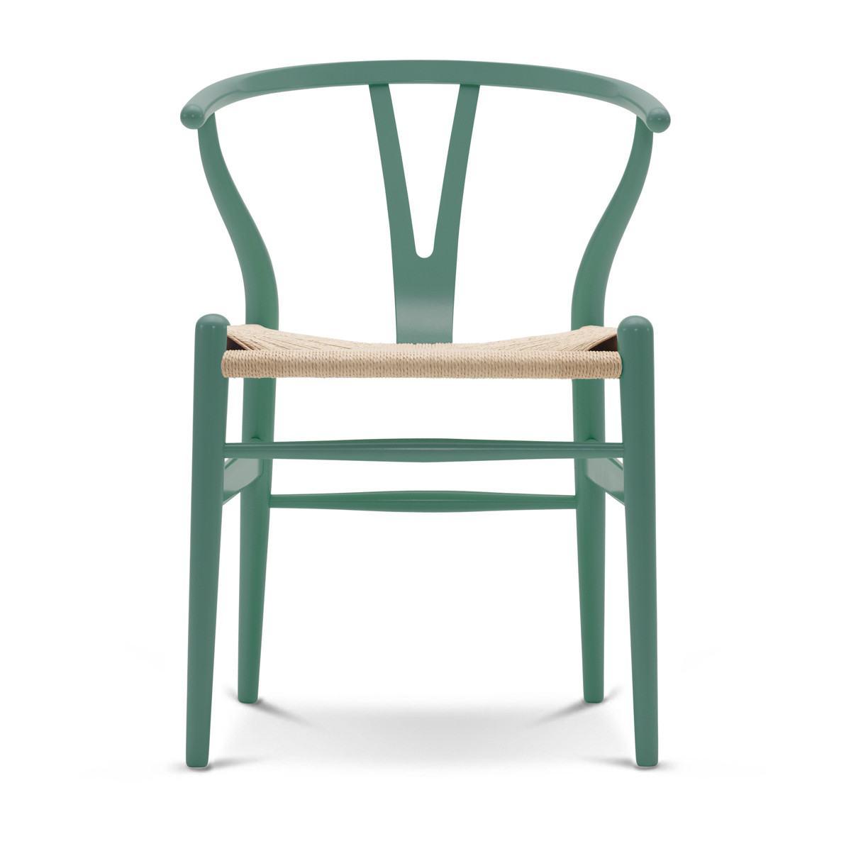 Carl Hansen CH24 Wishbone Chair - Painted Beech Frame