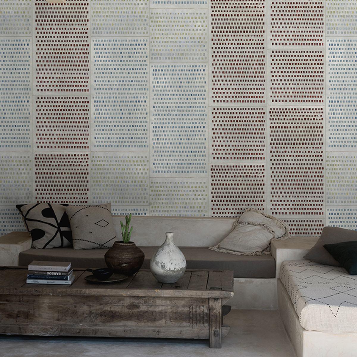 Wall and Deco Changing Dots TS Wallpaper