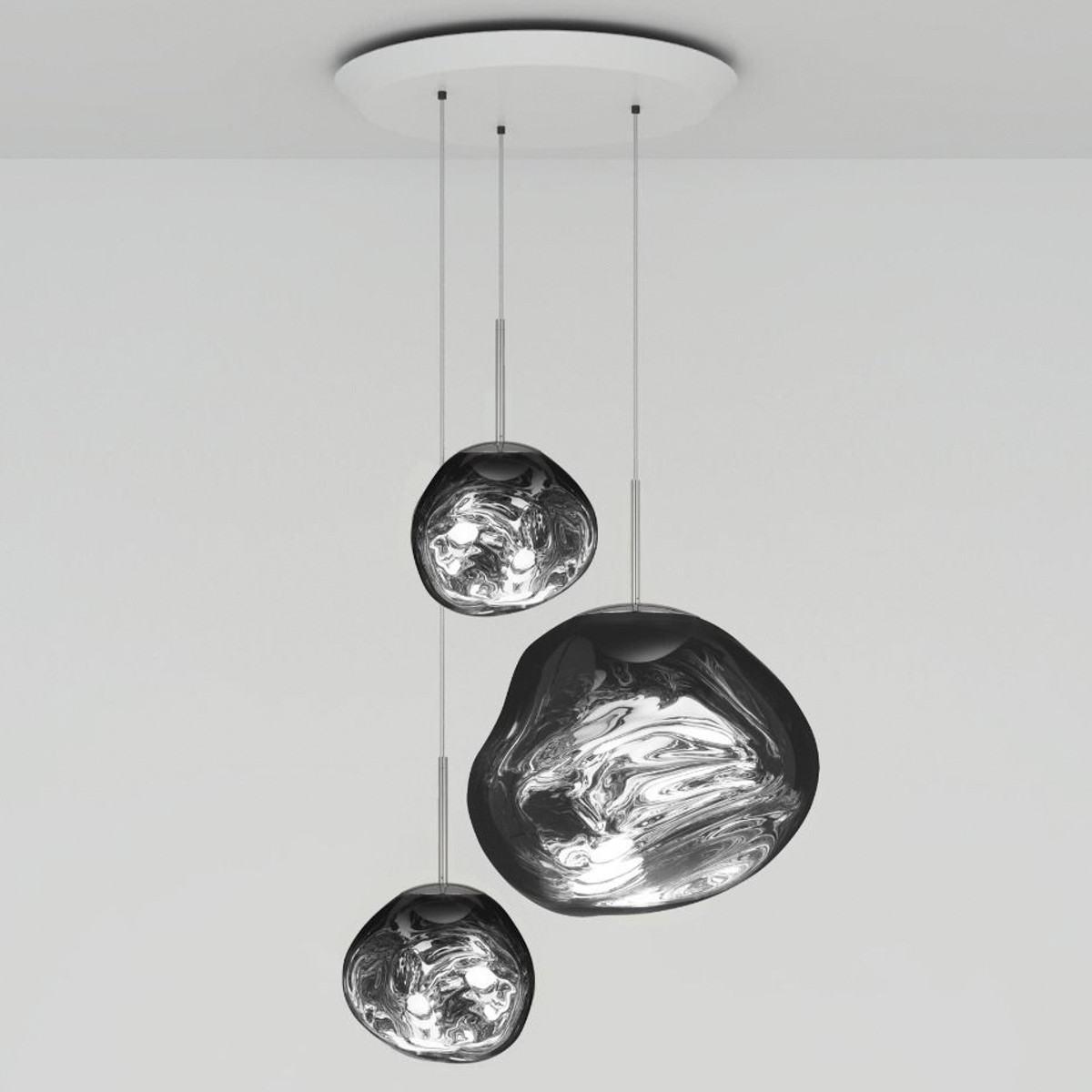 Tom Dixon Melt LED Trio Round Pendant System