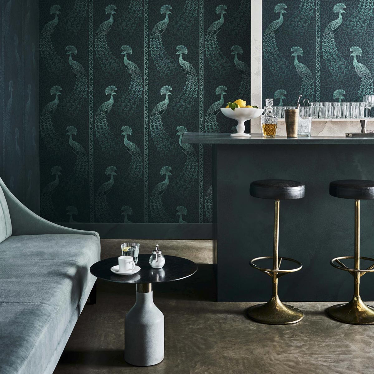 Cole and Son Pavo Parade Wallpaper