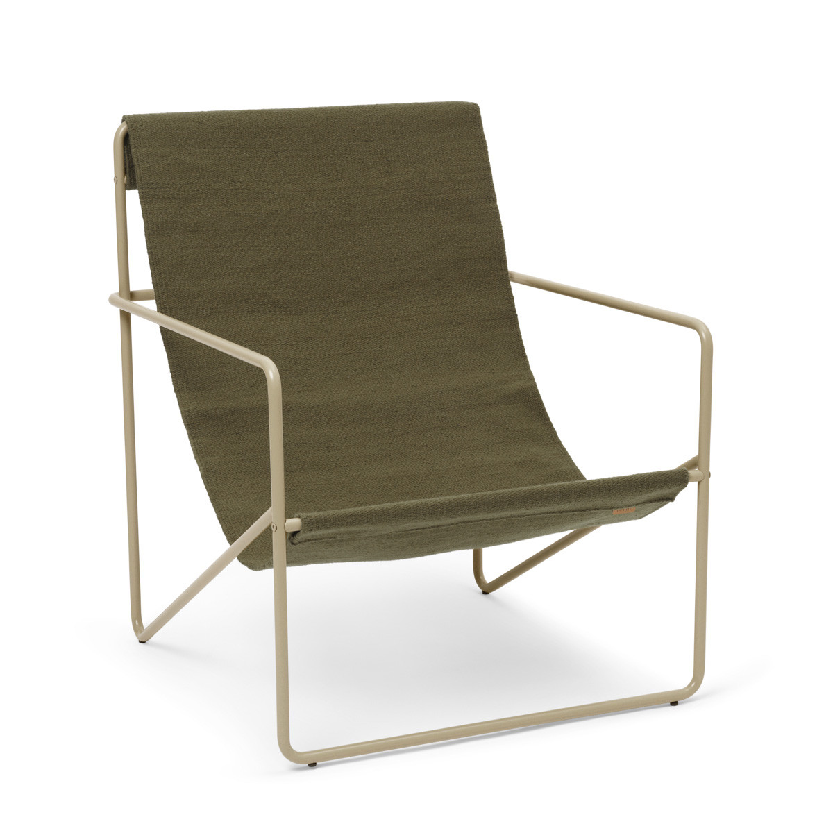 Ferm Living Desert Lounge Chair - Olive