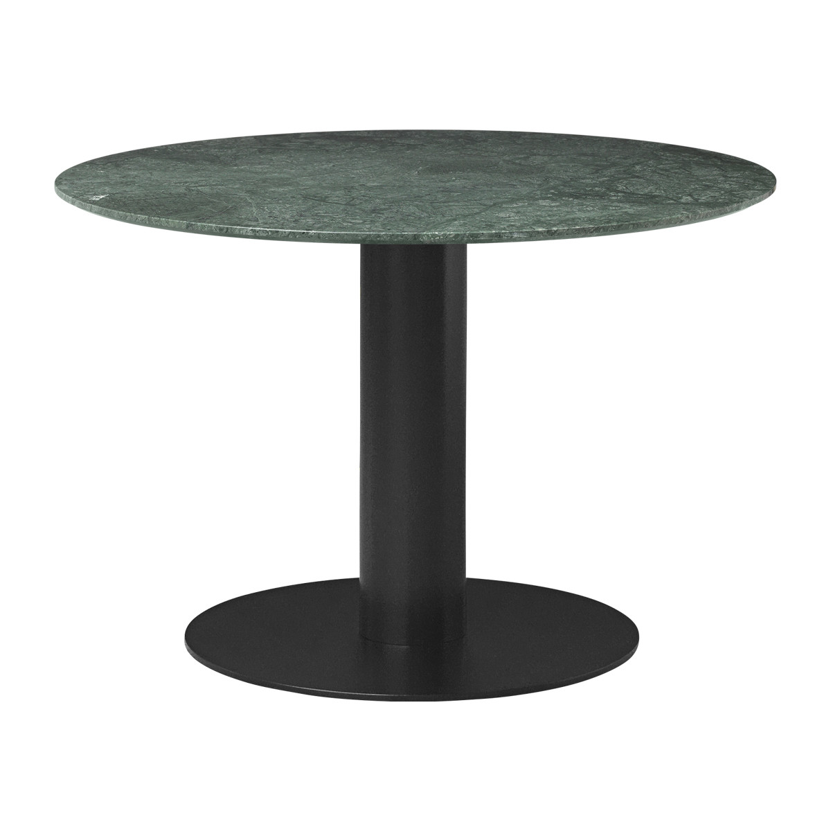 Gubi 2.0 Dining Table - Round, 110cm Diameter