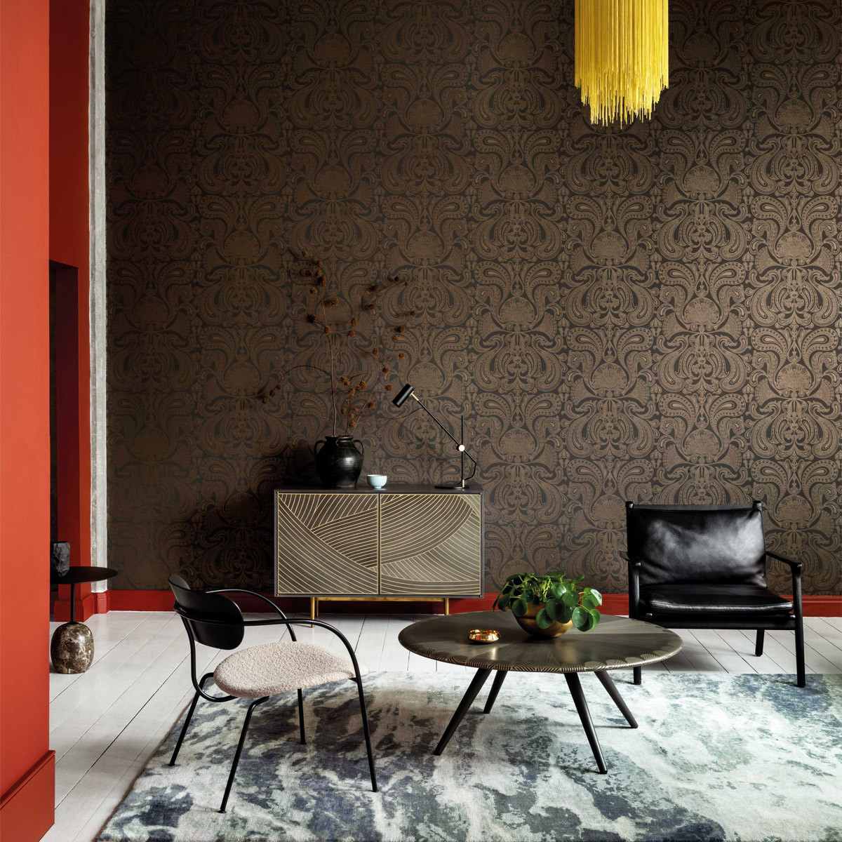 Cole and Son Malabar Wallpaper - Contemporary Restyled