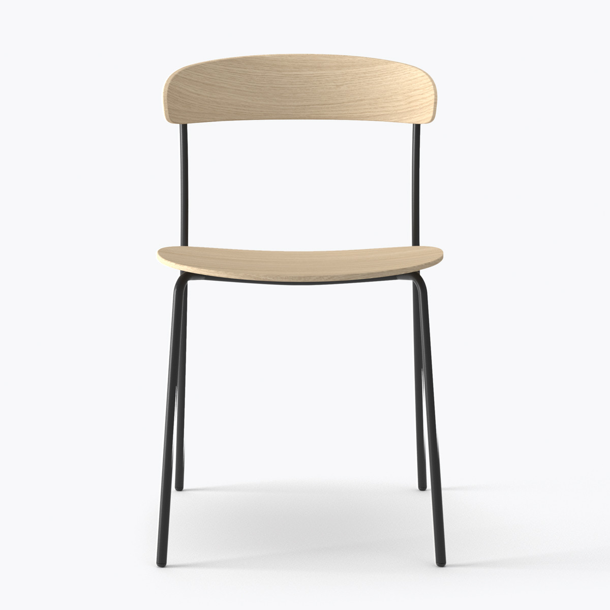New Works Missing Chair Without Armrest