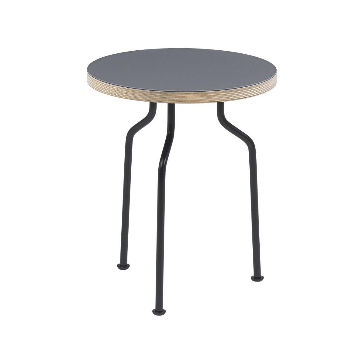 Gubi Modern Line Side Table - Round, 35cm Diameter