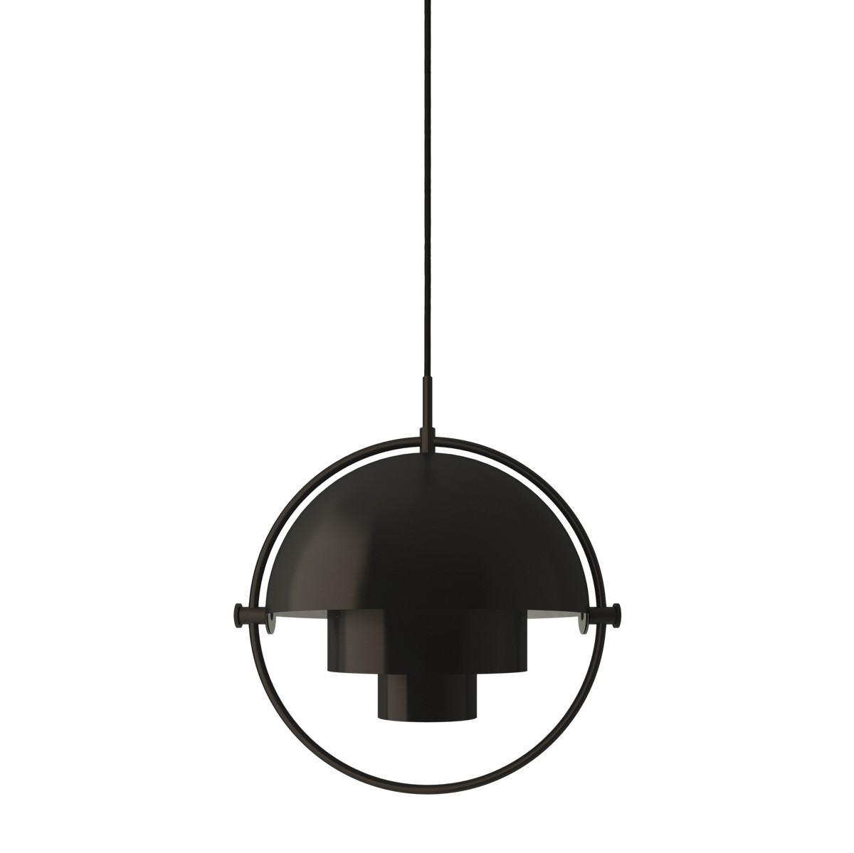 Gubi Multi-Lite Pendant Light - Black Brass